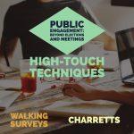 High-touch public engagement