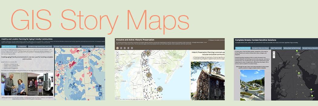 GIS Story Maps