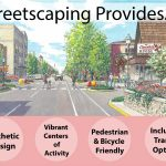 Streetscaping Provides