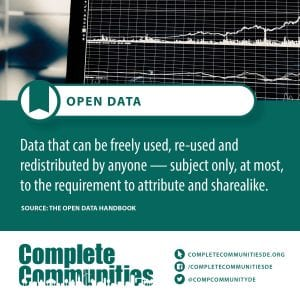 Open Data: Data that can be freely used, re-used and redistributed by anyone--subect only, at most, to the requirement to attribute and sharealike.