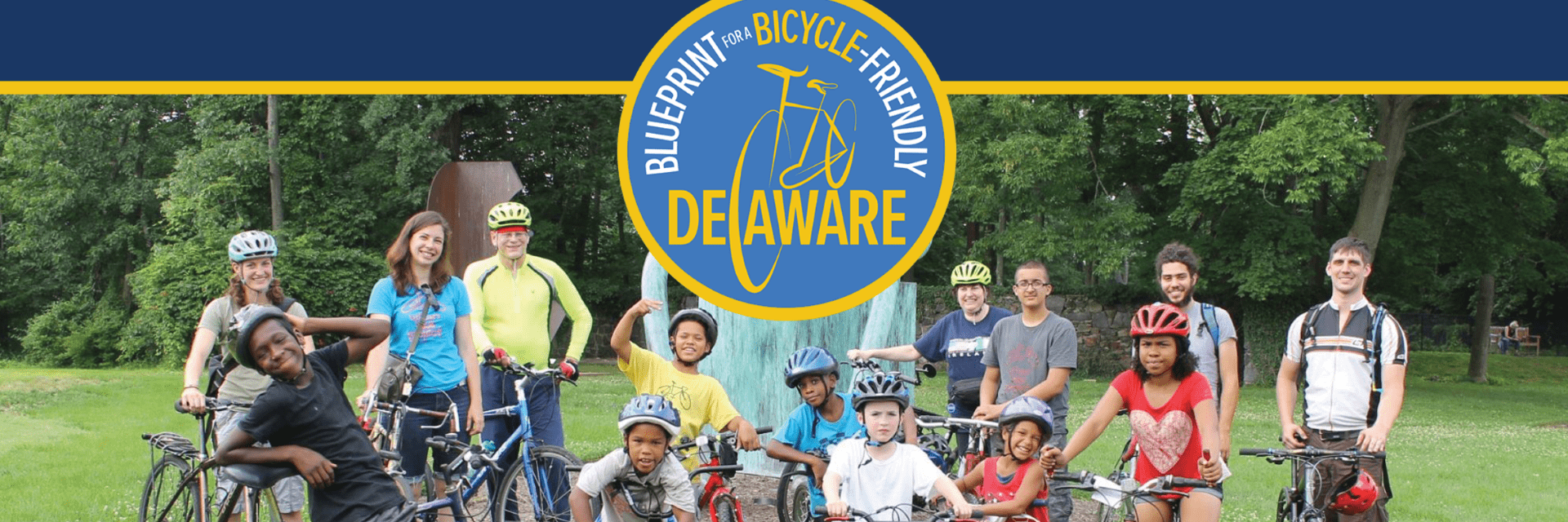 Image of the Blueprint for a Bicycle Friendly Delaware Framework for Local Implementation Spark Page. Click on the image to open the Spark Page.
