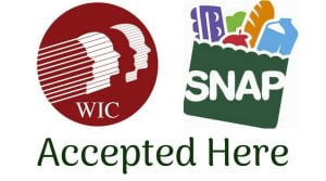 Image of SNAP and WIC logos