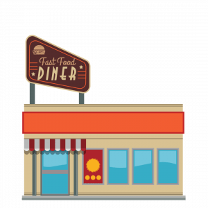 Image of a fast food restaurant.