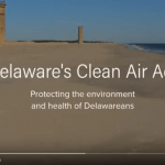 Screenshot of a video titled Delaware's Clean Air Act. Click on the image to open the full video in a new tab.