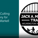 Screenshot of a video titled Jack A. Markell Trail Opening. Click on the image to open the full video on YouTube.