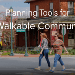 Screenshot of a video about planning tools for a walkable community. Click on the image to open the full video in YouTube.