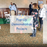 Screenshot of a video titled Indoor Pop-Up Demonstration Projects. Click on the image to open the full video in YouTube.