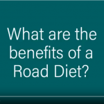 Screenshot of video titled Benefits of Road Diets. Click on the image to open the full video on YouTube.