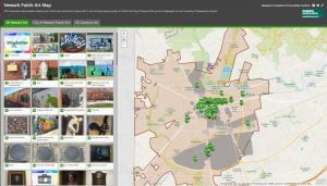 Newark Public Art GIS Story Map