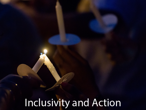 <strong>Inclusivity and Action</strong><br /><br />We develop your ability to expand your understanding of diverse perspectives, engage in respectful and productive civil discourse, and work within as well as advocate for inclusive, equitable communities.