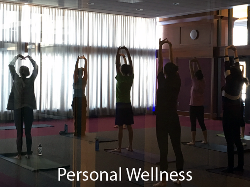 <b>Personal Wellness</b><br /><br />We teach you to create and sustain relationships that contribute to personal success, manage competing educational/work/personal commitments, articulate the effects of choices on your health and others', and develop strategies to learn from adversity.