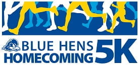 Blue Hens Homecoming 5k image