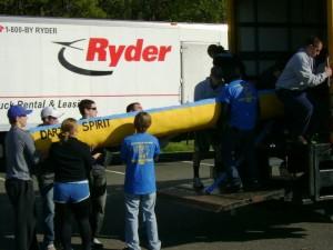 Canoe - Truck Loading