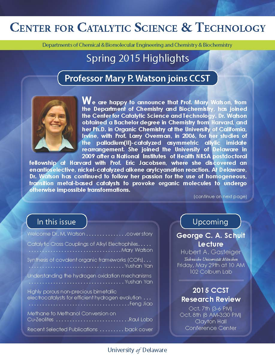2015 Research Newsletter