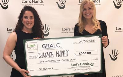 Lori's Hands scholarship