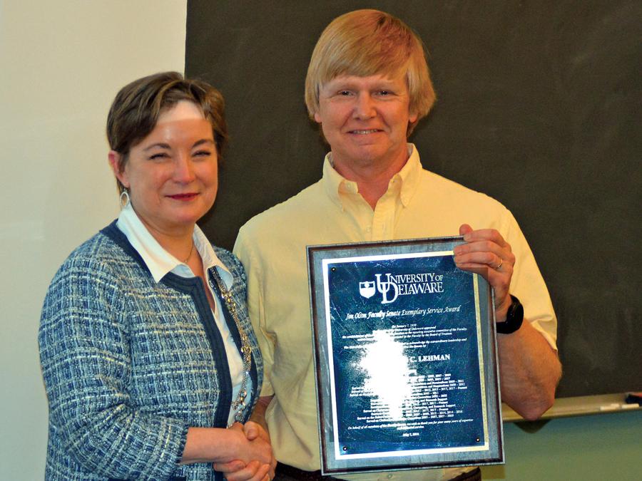Faculty Senate Award