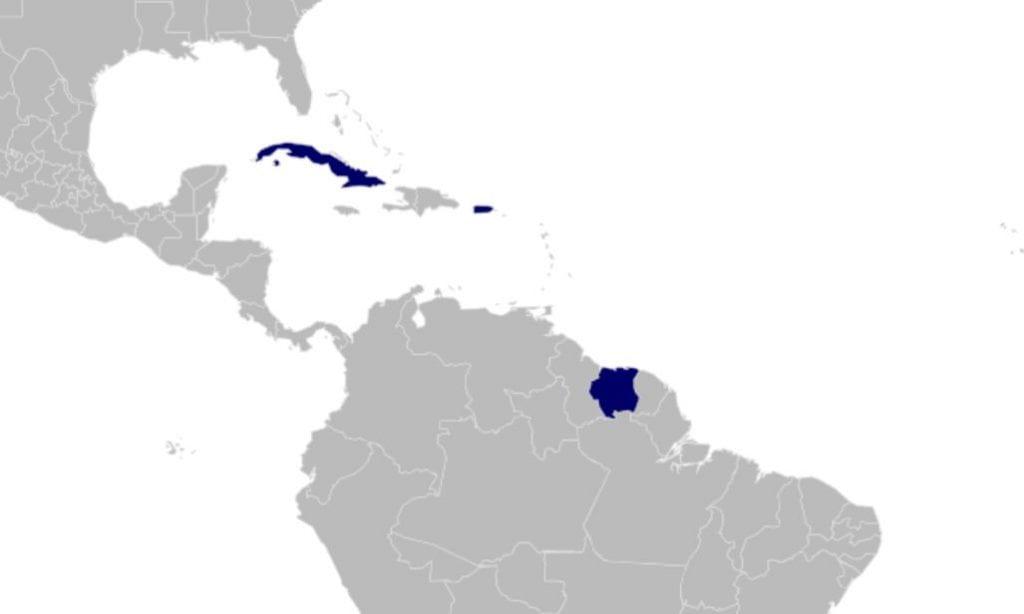 Chlorochara distribution