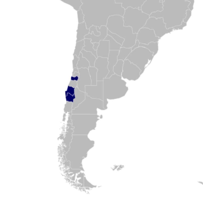 Distribution of Astatometopon