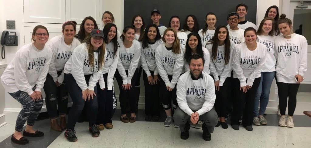 Dr. Perez's Honors Intro to Sociology class takes steps to reduce the inequalities of the global fast fashion industry