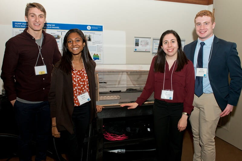 Ariel Hannum '20 and others develop senior design projects