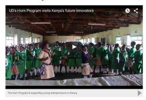 UD Horn Kenya Visit