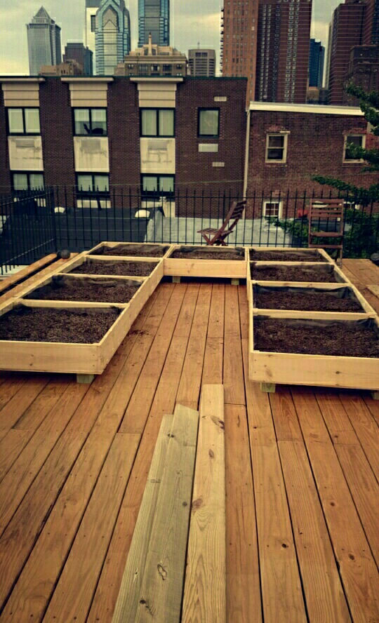 Analysis of the Weight of the Smart Roof Deck Garden