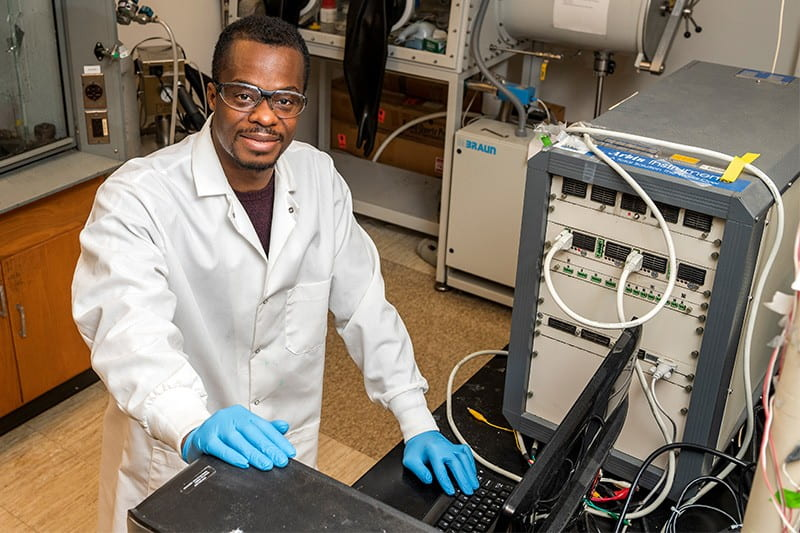 Koffi Pierre Yao, a new assistant professor of mechanical engineering at the University of Delaware