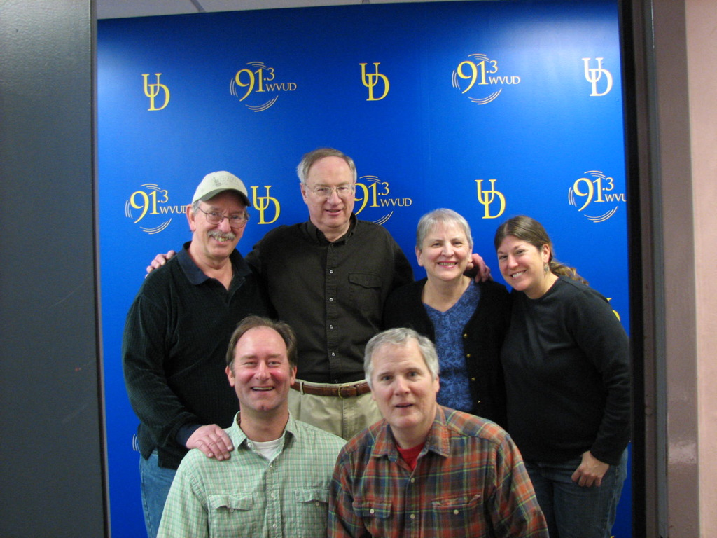 Carl Goldstein and his dedicated Radiothon crew