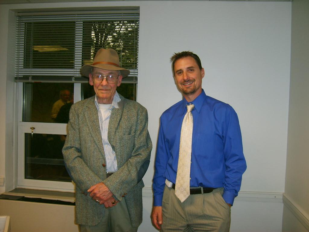 Larry Carr and Steve Kramarck