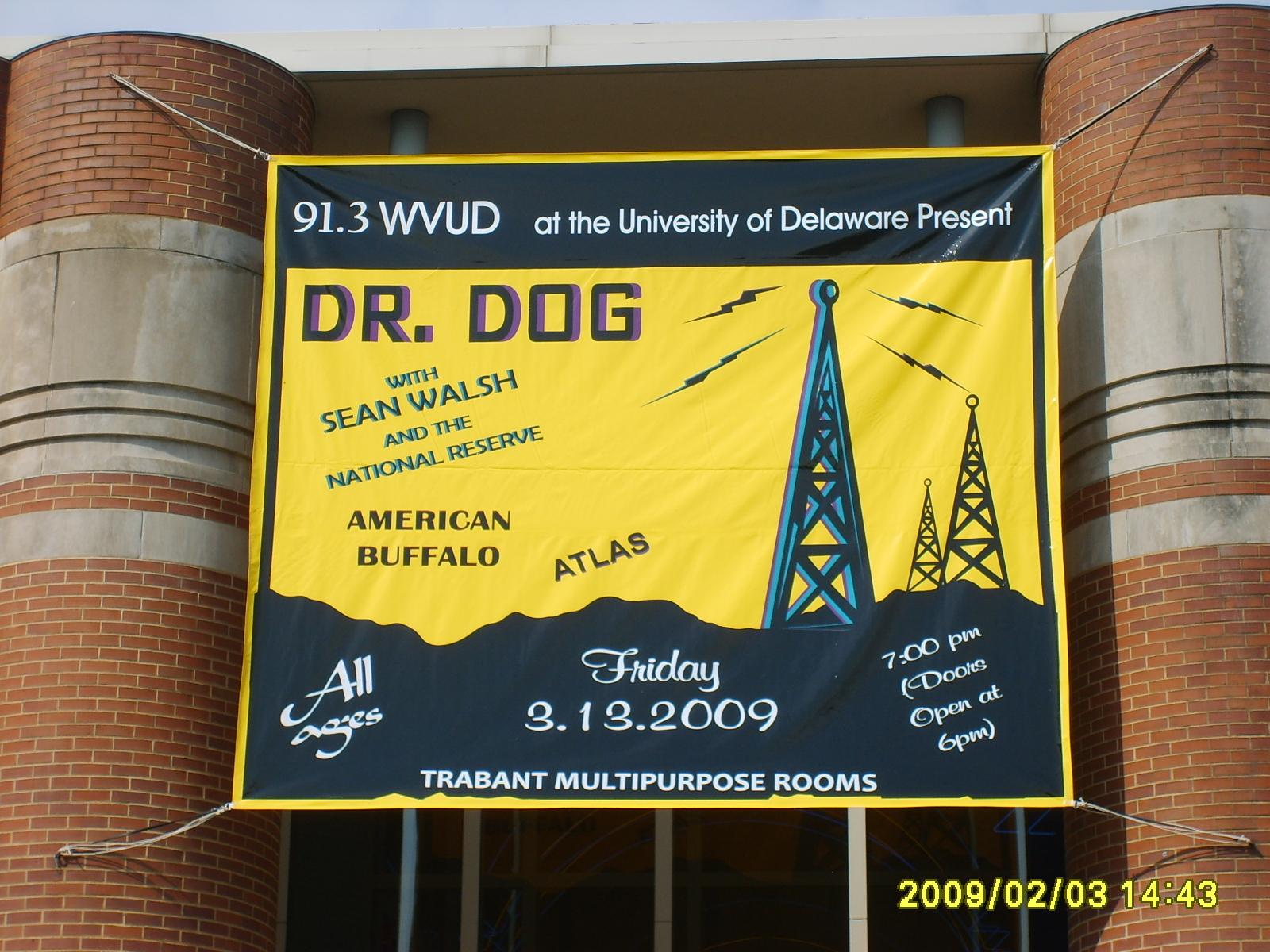 Giant banner!
