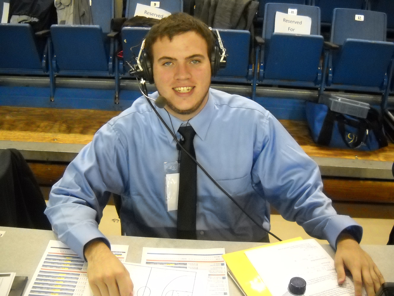 WVUD Sports Director- Kevin Collins