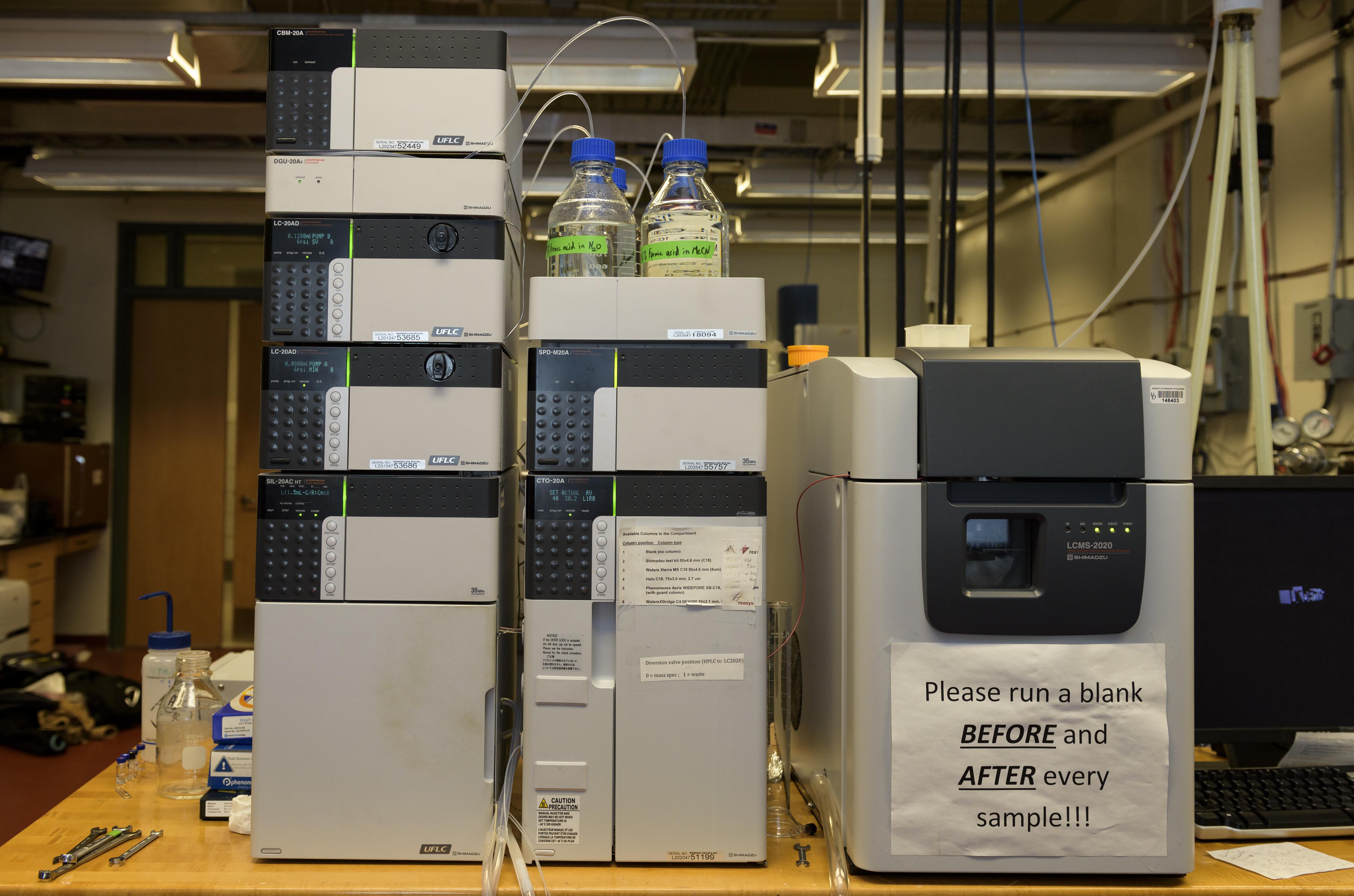 Shimadzu | Mass Spectrometry Facility