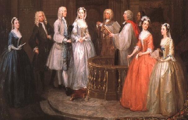 18th Century Wedding Ceremony