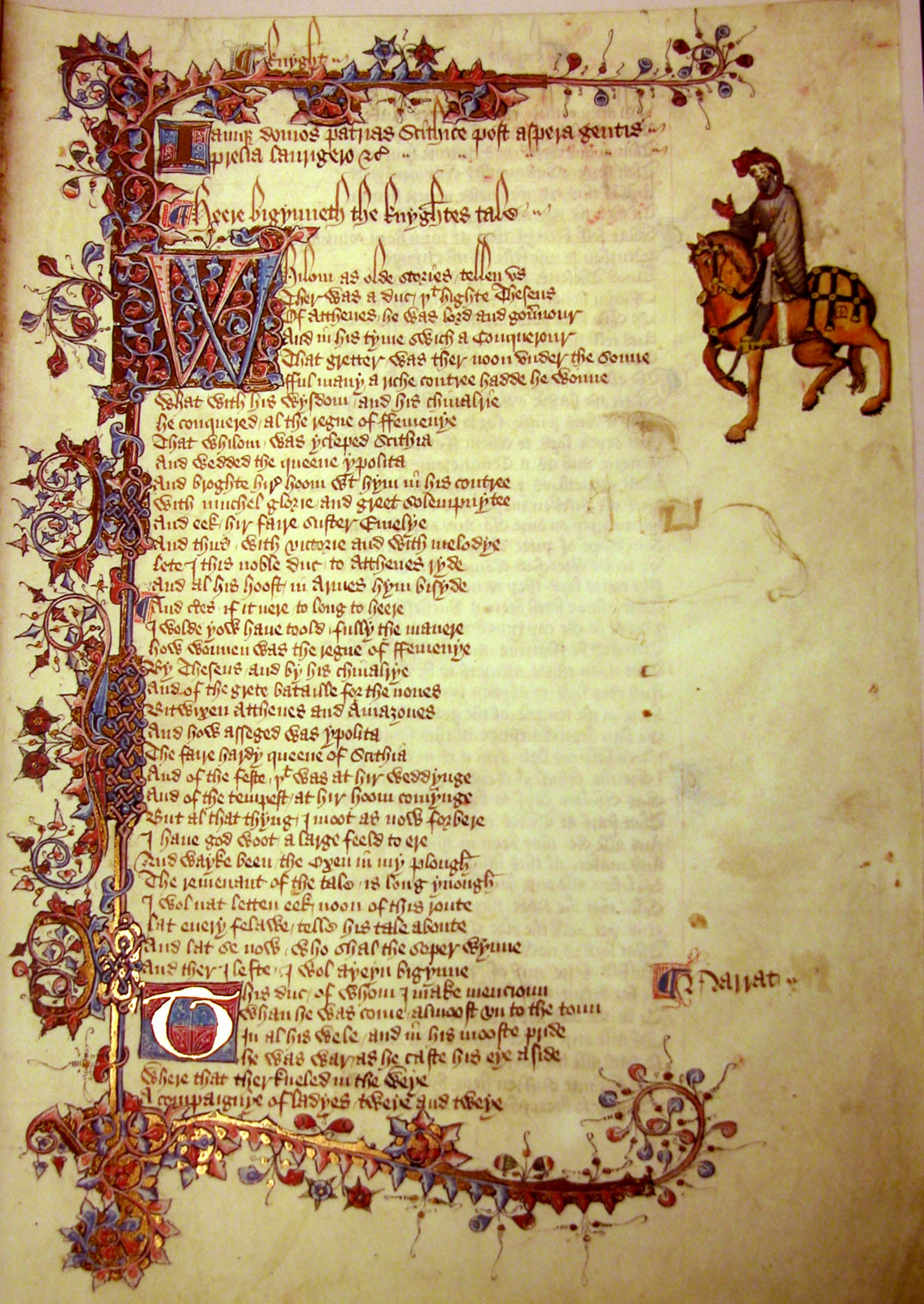 The Canterbury Tales By Geoffrey Chaucer British Literature Wiki The Canterbury Tales