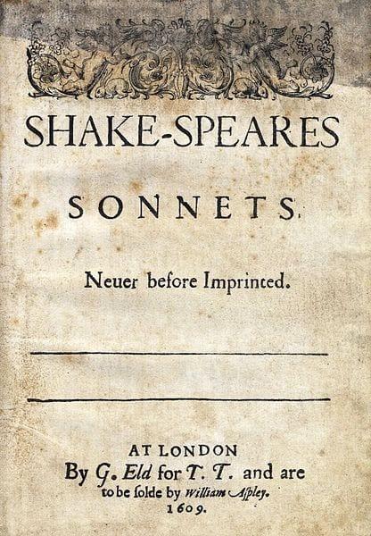 Shakespear sonett