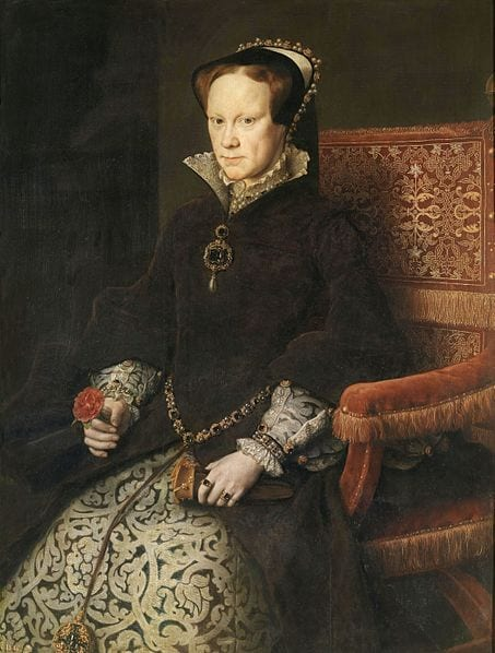 Mary I by Anthony Moris