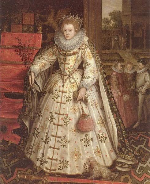 """The Peace Portrait of Elizabeth I"" by Marucs Gheeeraerts"