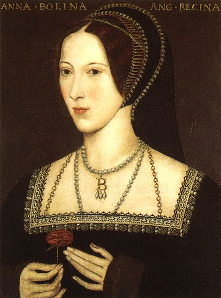Portrait of Anne Boleyn By Template:John Hoskins