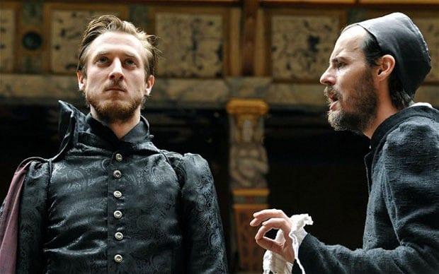 Arthur Darvill and Paul Hilton in Doctor Faustus.jpg