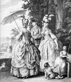 18th Century Women's Fashion