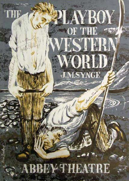 "A Poster for ""The Playboy of the Western World"