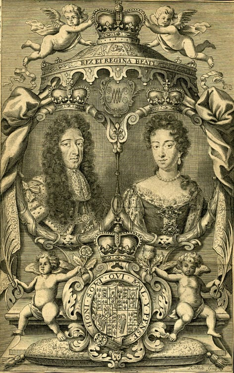 King William & Queen Mary - R. White (1703)
