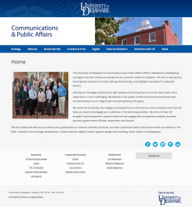 Communications and Public Affairs