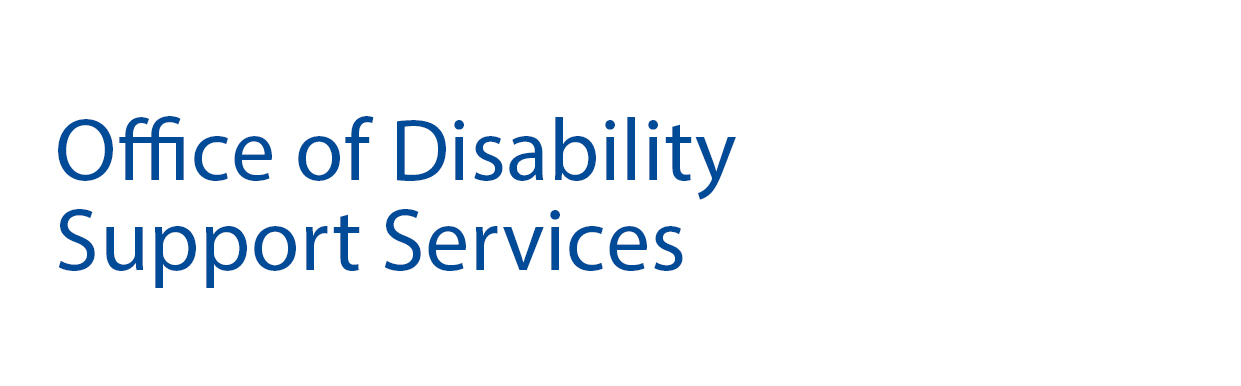 Office of Disability Support Services