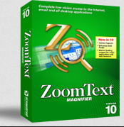 Picture of Zoom Text software