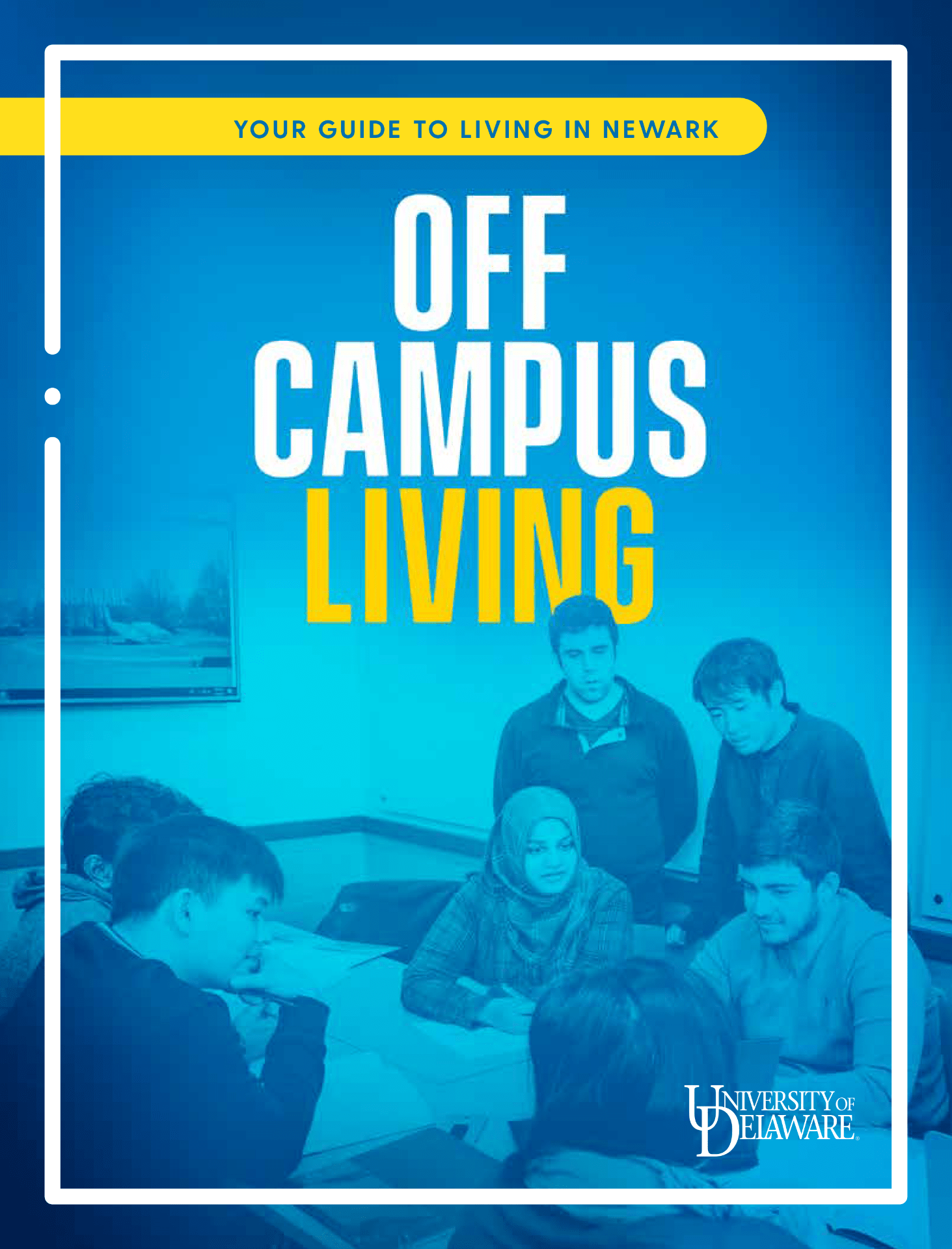 Cover of UD 2019 Off Campus Living Guide