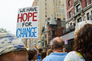 Signs, People's Climate March -Katy Super