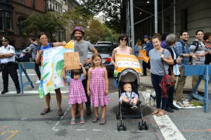 For Her Son, People's Climate March -Katy Super