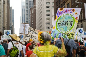 Colorful Kansas, People's Climate March -Katy Super