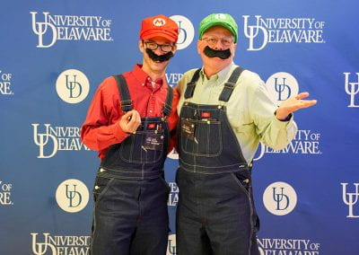Mario and Luigi cosplayers